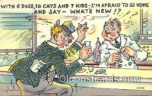 com100238 - Comic Comical Postcard Post Card Old Vintage Antique