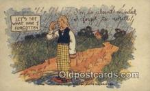 com100286 - Comic Comical Postcard Post Card Old Vintage Antique