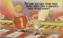 com100291 - Comic Comical Postcard Post Card Old Vintage Antique