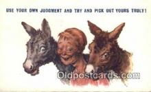 com100311 - Comic Comical Postcard Post Card Old Vintage Antique