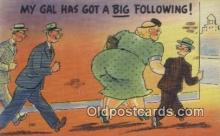 com100317 - Comic Comical Postcard Post Card Old Vintage Antique