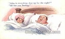 com100320 - Comic Comical Postcard Post Card Old Vintage Antique