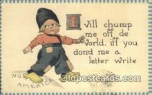 com100327 - Comic Comical Postcard Post Card Old Vintage Antique