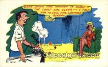 com100330 - Comic Comical Postcard Post Card Old Vintage Antique