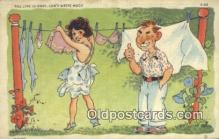 com100339 - Comic Comical Postcard Post Card Old Vintage Antique