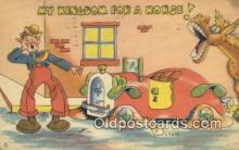 com100343 - Comic Comical Postcard Post Card Old Vintage Antique