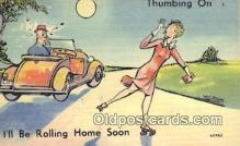 com100383 - Comic Comical Postcard Post Card Old Vintage Antique
