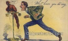 com100384 - Comic Comical Postcard Post Card Old Vintage Antique