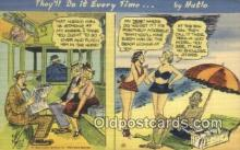 com100391 - Comic Comical Postcard Post Card Old Vintage Antique