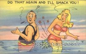 com100403 - Comic Comical Postcard Post Card Old Vintage Antique