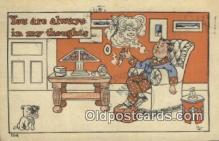 com100405 - Comic Comical Postcard Post Card Old Vintage Antique