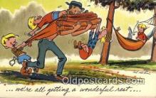 com100446 - Comic Comical Postcard Post Card Old Vintage Antique