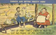com100596 - Comic Comical Postcard Post Card Old Vintage Antique