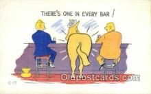com100613 - Comic Comical Postcard Post Card Old Vintage Antique