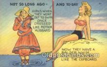 com100616 - Comic Comical Postcard Post Card Old Vintage Antique