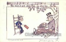 com100692 - Comic Comical Postcard Post Card Old Vintage Antique