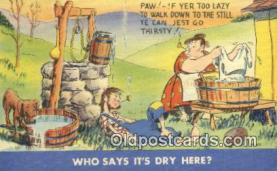 com100750 - Comic Comical Postcard Post Card Old Vintage Antique