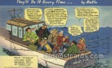 com100751 - Comic Comical Postcard Post Card Old Vintage Antique