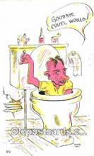 com100767 - Artist Elmer, Comic Comical Postcard Post Card Old Vintage Antique