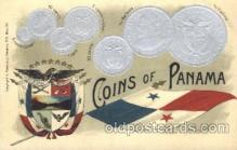 con001024 - Coins of Panama Postcard Post Card