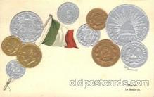 con001066 - Mexico Coin, Coins, Postcard Post Card