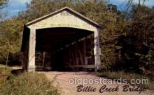 cou100028 - Rockville, Indiana USA Billie Creek Covered Bridge