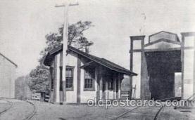 cou100038 - Delphi, Montgomery County, PA USA Reading Railroad Covered Bridge