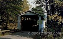 cou100049 - New Wilmington, Pennsylvania USA Covered Bridge