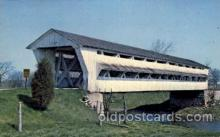 cou100052 - Milford Center, Ohio USA Covered Bridge