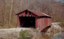 cou100058 - Bainbridge, Putnam County, IN USA Rolling Stone Bridge