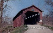 cou100063 - Raccoon, Putnam County, Indiana USA Cornstalk Bridge