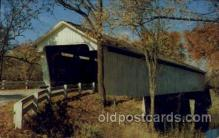 cou100073 - Darlington Indiana USA Covered Bridge