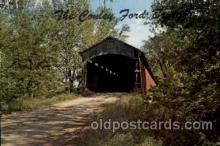 cou100077 - Bridgeton, Indiana USA Conley Ford Bridge