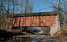 cou100078 - Parke County, Indiana USA Bowsher Ford Bridge