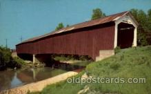 cou100092 - Putnam County, Indiana USA Jeffries Ford Bridge