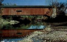 cou100106 - Greencastle, Putnam County, Indiana USA  Covered Bridge