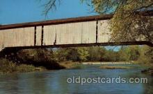 cou100109 - Rockville, Indiana USA Mansfield Bridge