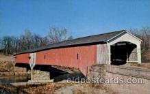 cou100113 - Parke County, Indiana USA West Union Bridge