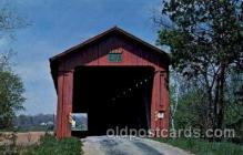 cou100118 - Greencastle, Putnam Co., IN USA Houck Bridge
