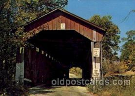 cou100119 - Greencastle, Putnam Co., IN USA Dunbar Bridge