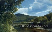 cou100132 - Old Scott, VT USA Covered Bridge Postcard Post Card Old Vintage Antique