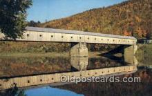 cou100140 - Windsor, Vermont-Cornish, NH USA Covered Bridge Postcard Post Card Old Vintage Antique