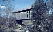 Covered Bridge, VT USA