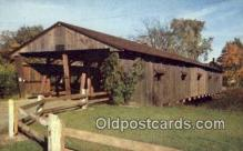 cou100146 - Covered Bridge, VT USA Covered Bridge Postcard Post Card Old Vintage Antique