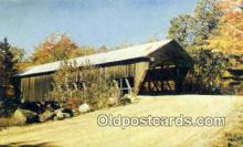 cou100178 - Kissing Bridge, OH USA Covered Bridge Postcard Post Card Old Vintage Antique