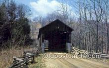 cou100205 - Greggs Mill, Fallsburg, OH USA Covered Bridge Postcard Post Card Old Vintage Antique