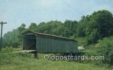 cou100211 - Greenville, TN USA Covered Bridge Postcard Post Card Old Vintage Antique