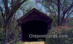 cou100317 - Windsor Co, VT USA Covered Bridge Postcard Post Card Old Vintage Antique
