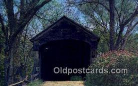 cou100318 - Windsor Co, VT USA Covered Bridge Postcard Post Card Old Vintage Antique