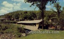 cou100324 - Taftsville, VT USA Covered Bridge Postcard Post Card Old Vintage Antique
